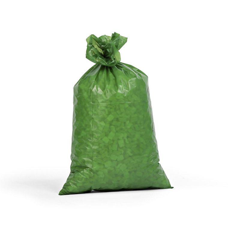 Sacs plastique - capacité 70 l, l x h 575 x 1000 mm, lot de 250 - épaisseur 55 µm, vert - Coloris: Vert