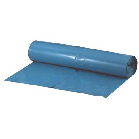 Sacs poubelle 120 l bleu 100my (Rouleau de 10 St.) (Par 10)
