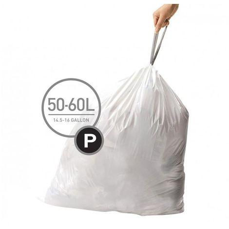 Sacs poubelle 50-60 L Code P Simplehuman