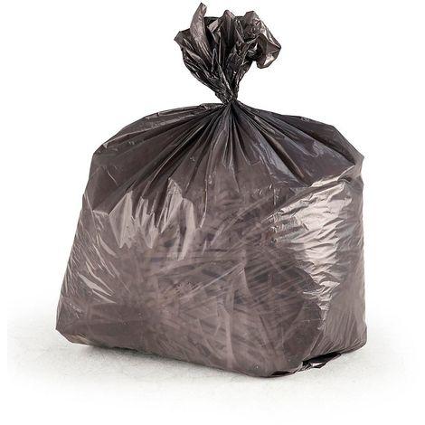 Sacs-poubelle - en polyéthylène gris - pour capacité 11 l, lot de 30 rouleaux de 50 sacs - Coloris: Gris