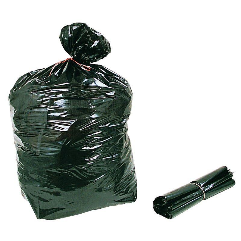 Sacs poubelle par rouleau de 25 - 110L Standard 50? SAPO110LST - Sacherie De Pantin