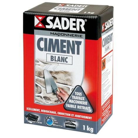 SADER - Ciment blanc - 1 Kg