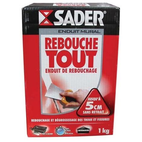 SADER - Enduits de rebouchage - 1 Kg