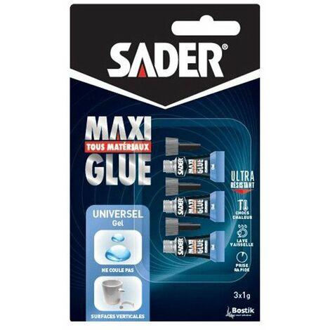 Sader Maxiglue Gel 3 X 1gr - SADER