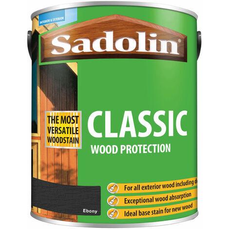 Sadolin 5012924 Classic Wood Protection Ebony 5 litre