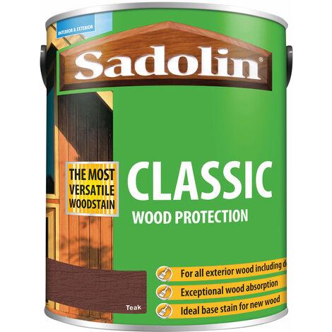 Sadolin 5028463 Classic Wood Protection Teak 5 litre