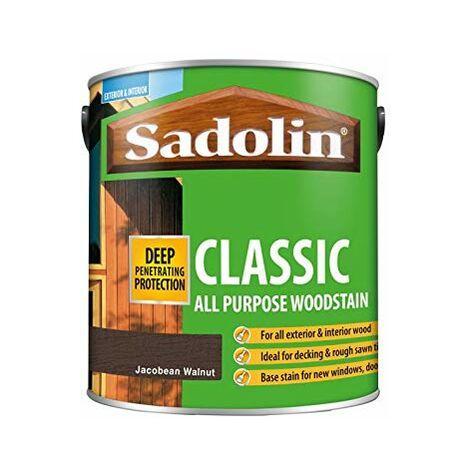 Sadolin Classic Wood Protection Jacobean Walnut 2.5 Litre