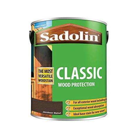 Sadolin Classic Wood Protection Jacobean Walnut 5 Litre