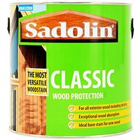Sadolin Classic Wood Protection Redwood - 2.5 Litres
