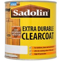 Sadolin Extra Durable Clearcoat Clear Gloss 1L