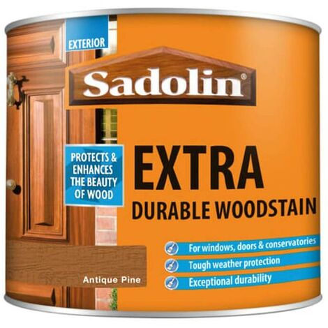 Sadolin Extra Durable Woodstain - Antique Pine - 2.5L