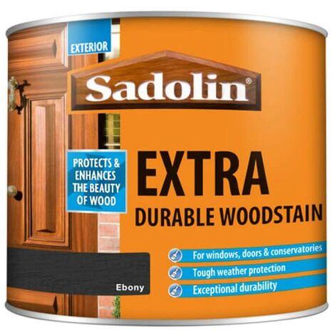 Sadolin Extra Durable Woodstain - Ebony - 2.5L