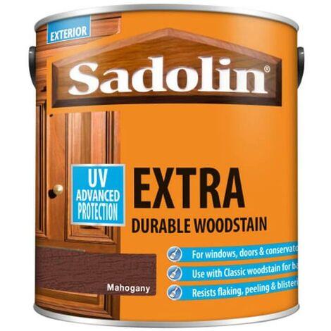 Sadolin Extra Durable Woodstain - Mahogany - 2.5L