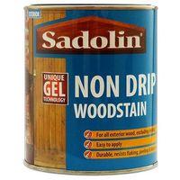 Sadolin Non Drip Woodstain Jacobean Walnut 750ml