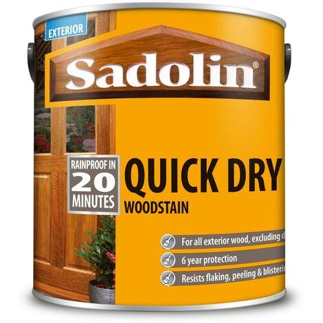 Sadolin Quick Dry Woodstain - Jacobean Walnut - 1L