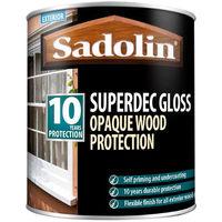 Sadolin Superdec Gloss Woodstain 2.5ltr Black