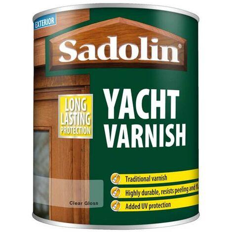 """main image of """"Sadolin Yacht Varnish - Clear Gloss - 0.75L"""""""