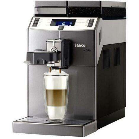 SAECO 10004768 - Machine a café Lirika OTC, Autonome, 2,5 L, Café en grains, 1850 W, Noir, Gris, Métallique