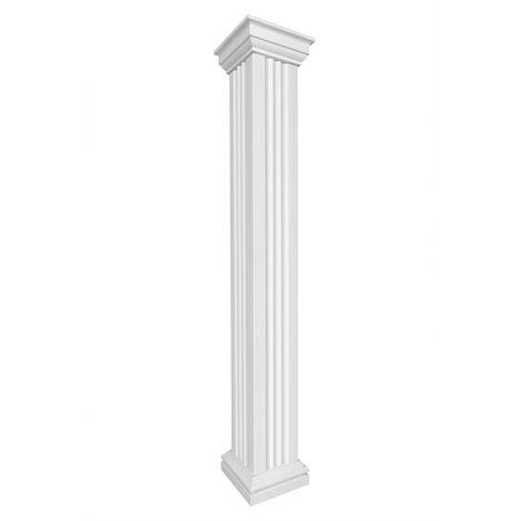 Säulen | Komplettset | Auswahl | Fassade | eckig | EPS | 405mm | LC109