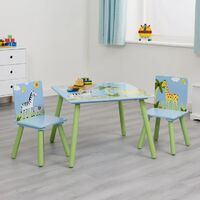 Safari Table & 2 Chair Set