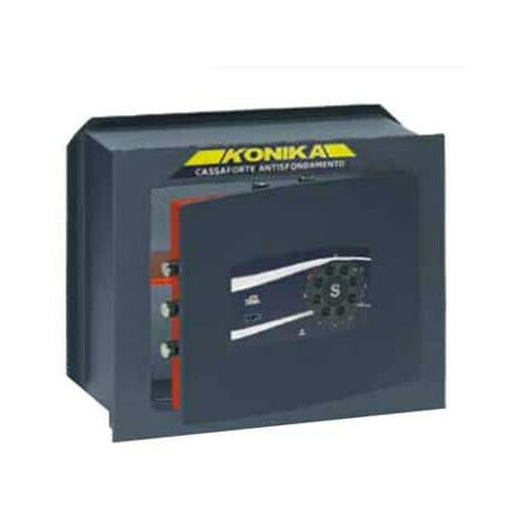 Safe at immured in key series disc combination 260TK stark 264TK 420x280x195mm