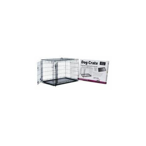 Safe 'N' Sound Dog Crate 2 Door - xlge - 756600