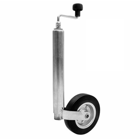 SAFE Roue jockey Winterhoff pour remorque tube Ø 48 mm