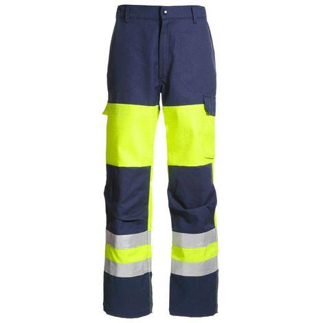 SAFELINE Pantalon de travail multirisques haute visibilité MDH