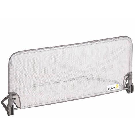 Safety 1st Barandilla para Cama Seguridad Cercado Dormitorio Gris 90 cm/150 cm