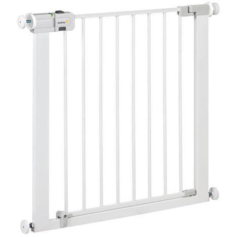 SAFETY 1ST Barriere de sécurité enfant Easy Close - Métal - Blanc