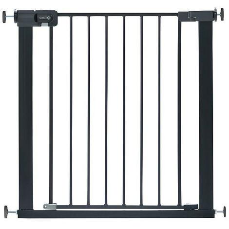 Safety 1st Barrière de Sécurité Métal Escalier Porte Bébés Enfants Noir/Blanc