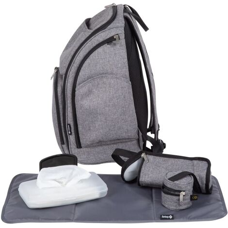 Safety 1st Diaper Backpack Grey