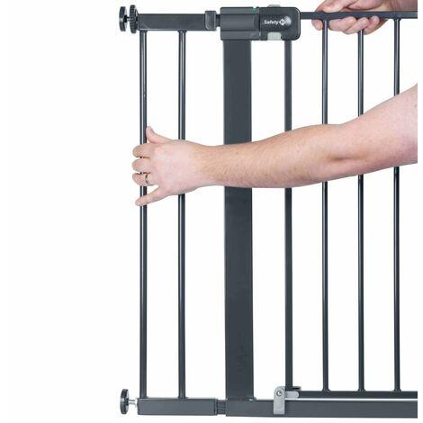 Safety 1st Extension de porte de sécurité 14 cm Noir Métal 2429057000