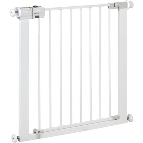 Safety 1st Safety Gate Easy Close 73 cm White Metal 24754310