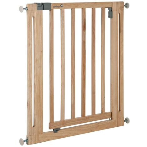 Safety 1st Safety Gate Easy Close 77 cm Wood 24040100 - Brown