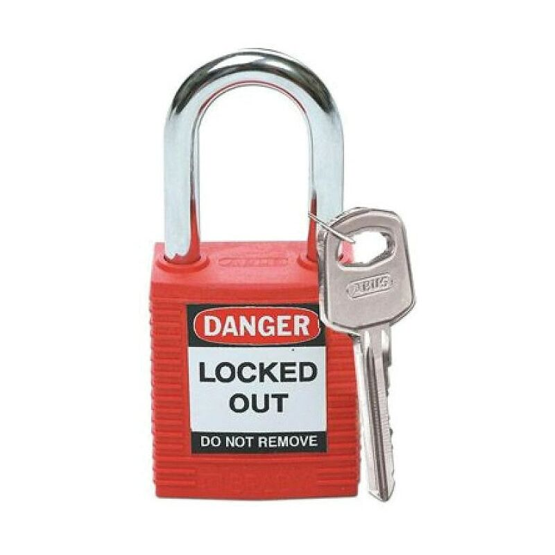 Image of 051339 Safety Padlock Keyed Differently Red - Brady