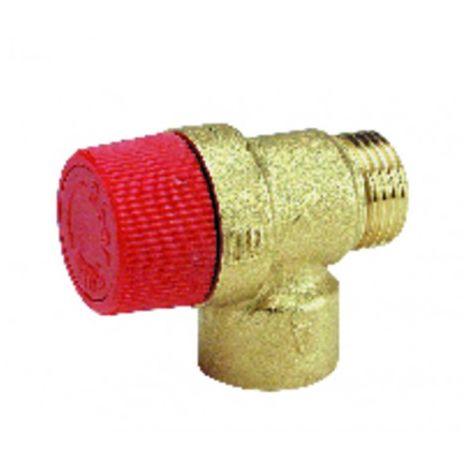 Safety valve 15X21 MF 1/2 - FERROLI : 39800130
