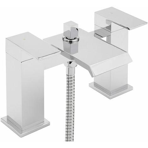Sagittarius Dakota Bath Shower Mixer Tap Deck Mounted - Chrome