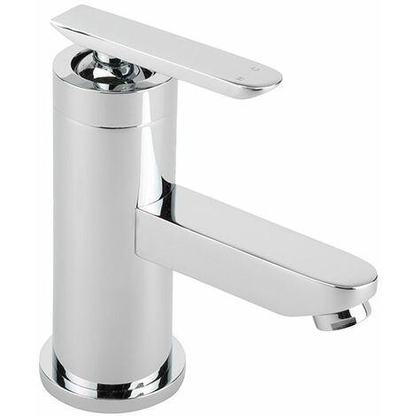 Sagittarius Eclipse Mono Basin Mixer Tap with Sprung Waste - Chrome