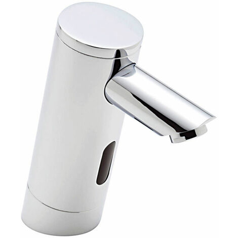 Sagittarius Infra-Red Angled Basin Mixer Tap Deck Mounted - Chrome