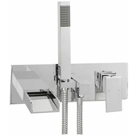 Sagittarius Nice Bath Shower Mixer Tap Wall Mounted - Chrome