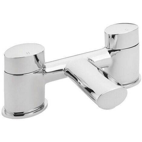 Sagittarius Oveta Bath Filler Tap Deck Mounted - Chrome