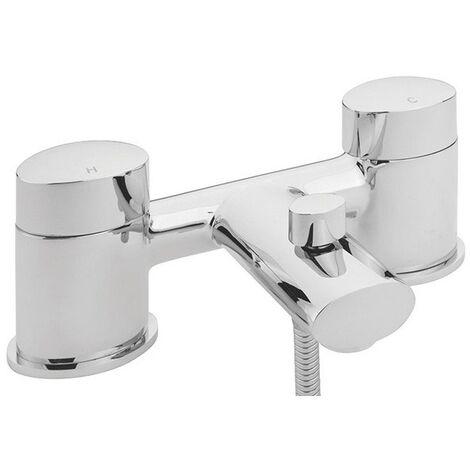 Sagittarius Oveta Bath Shower Mixer Tap Deck Mounted - Chrome
