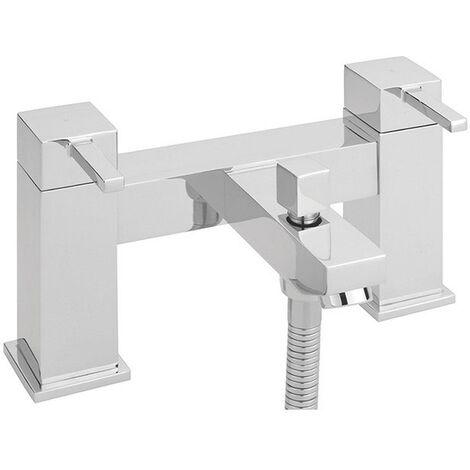 Sagittarius Pablo Bath Shower Mixer Tap Deck Mounted - Chrome