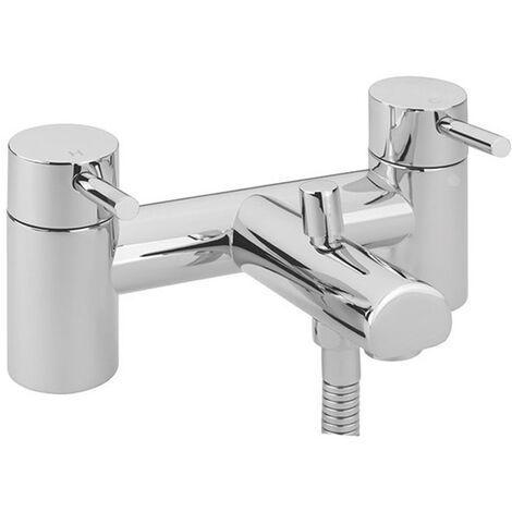 Sagittarius Piazza Bath Shower Mixer Tap Deck Mounted - Chrome