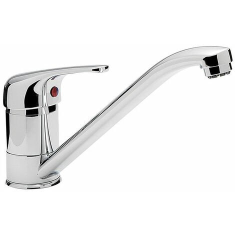 Sagittarius Prestige Mono Kitchen Sink Mixer Tap Swivel Spout - Chrome