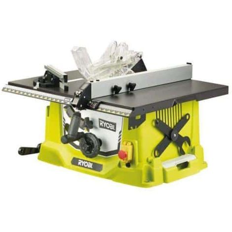 Sah auf elektrischen Tisch RYOBI 1800W 254mm RTS1800-G