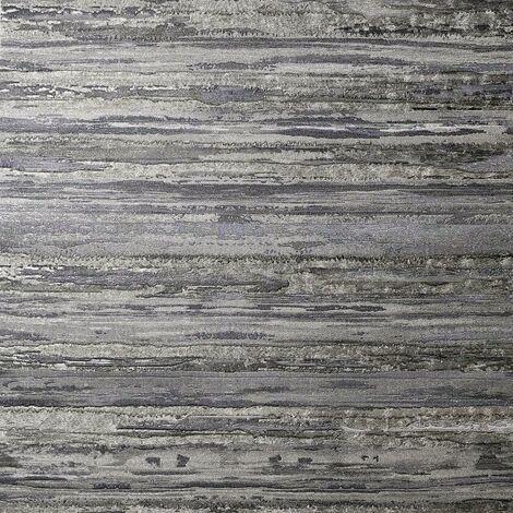 Sahara Pewter Textured Wallpaper Arthouse Heavyweight Vinyl Glitter Metallic