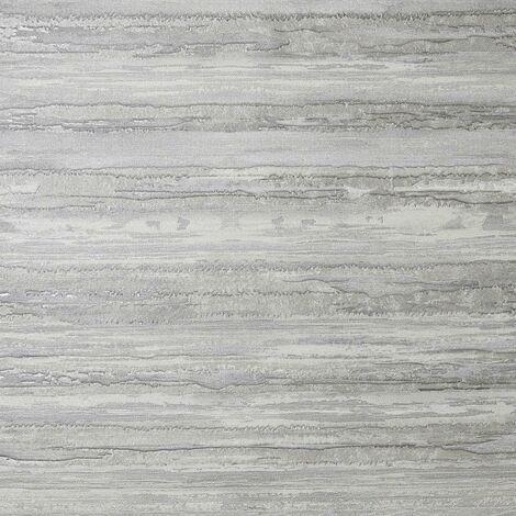 Sahara Silver Textured Wallpaper Arthouse Heavyweight Vinyl Glitter Metallic