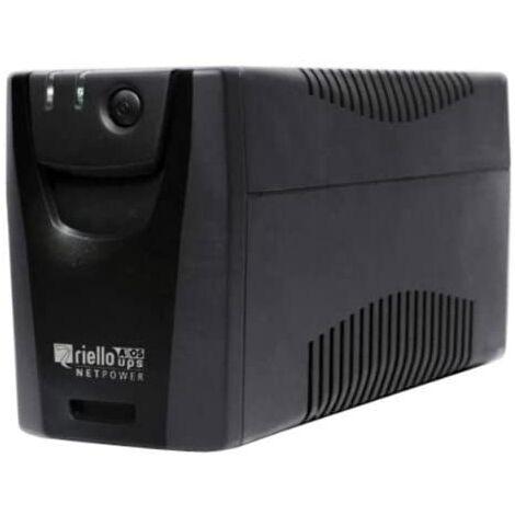 Sai Riello Puissance nette - Npw 600 Va / 360w - 10` Line Interactive 2 X Shucko